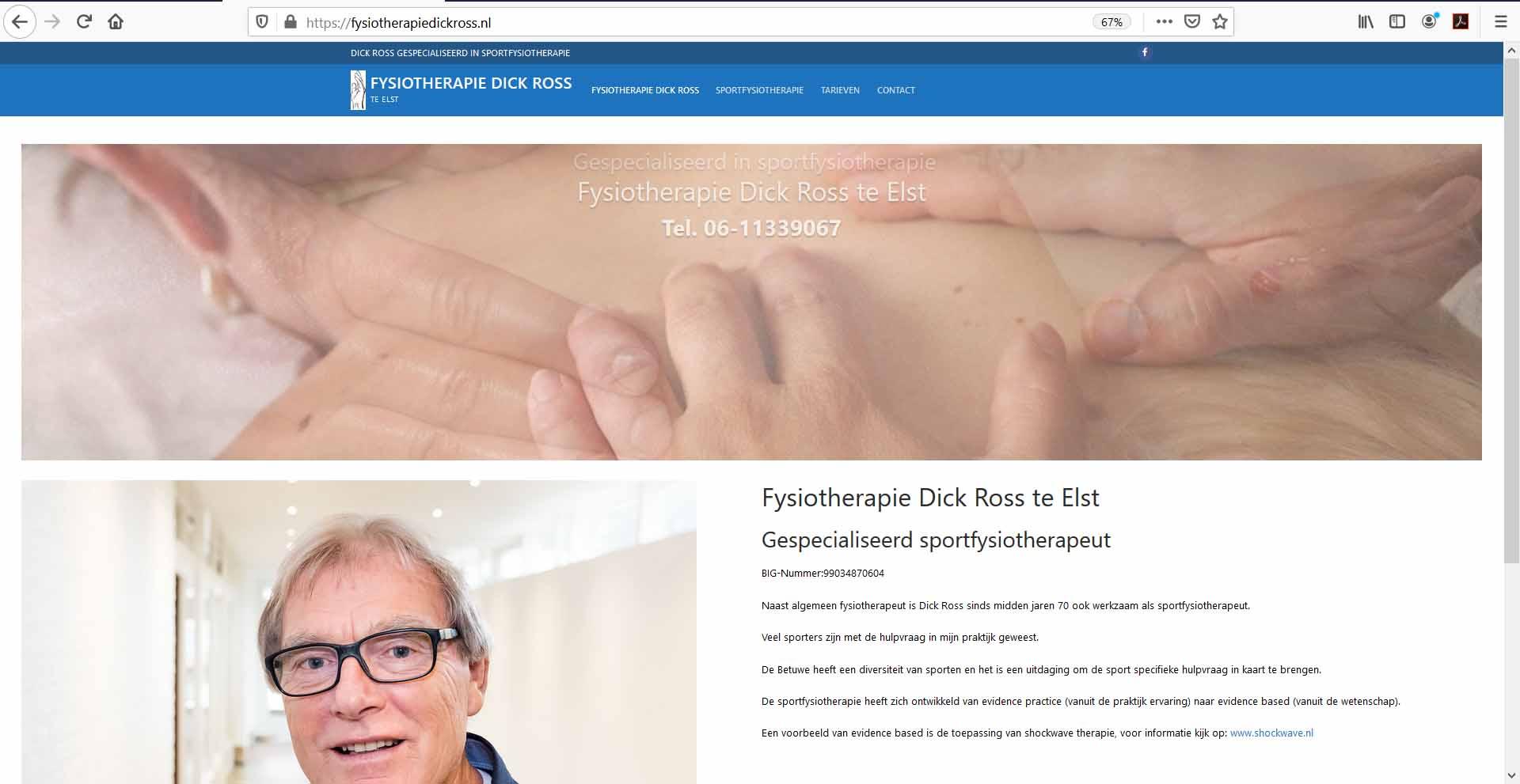 fysiotherapiedickross